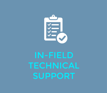 in-field technical support