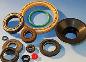 Vacuum shaft seals