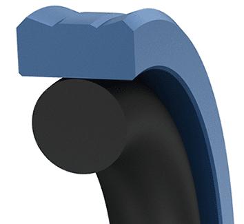 Piston seal example