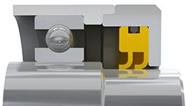 Rotaflon SB-Series rotary seal example