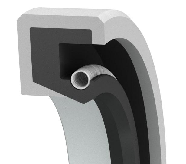 Medium-pressure single-lip oil seal-R1HPL