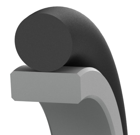 Bi-Directional Low-Friction Hydraulic Rod Seal