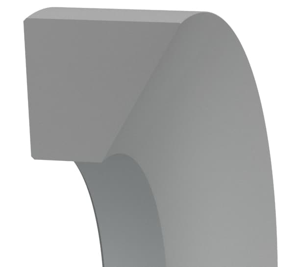 External Sealing Trapezoidal Back-up Ring