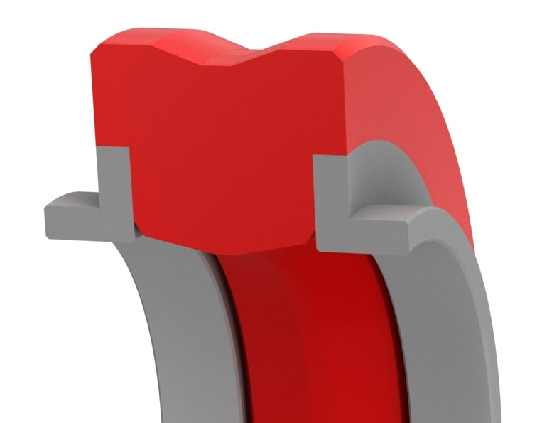 High-Pressure Bi-Directional Compact Rod Seal-R55