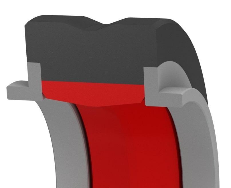 High-Pressure Bi-Directional Compact Rod Seal