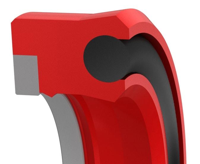 Premium High-Pressure Double-Lip Hydraulic Rod Seal