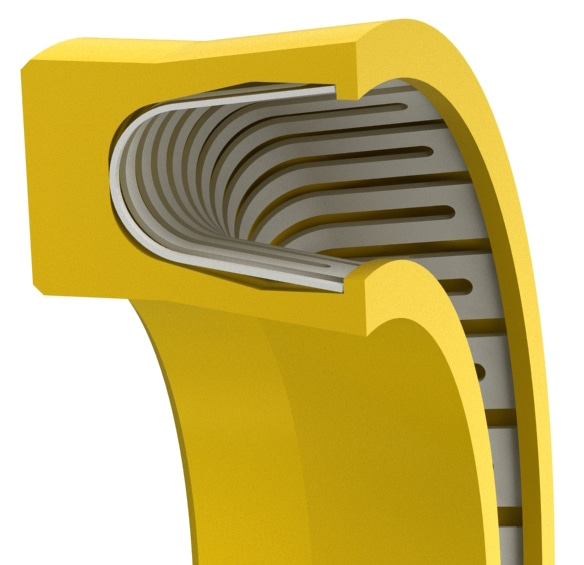 Scraper Lip V-Spring Rod or Piston Seal
