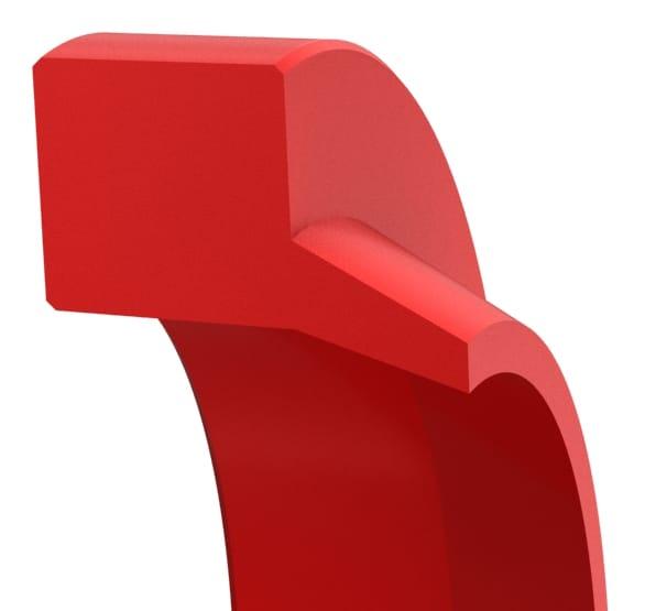 Snap-In Straight-Lip Hydraulic Wiper