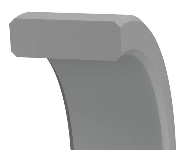 Standard wear ring designed to eliminate metal-to-metal contact