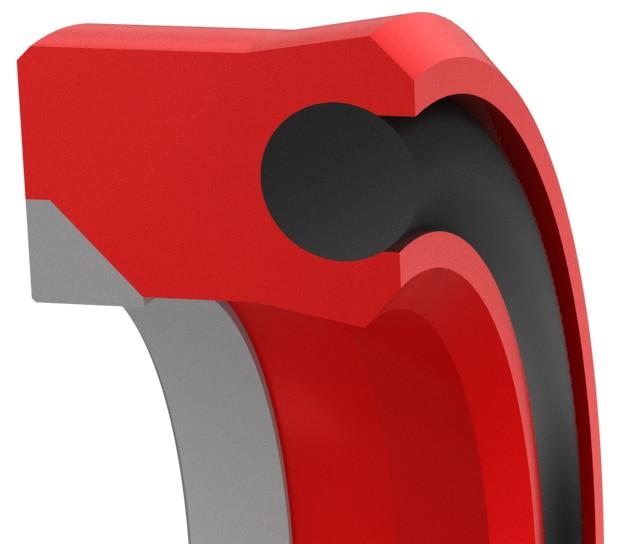 Ultra-High Pressure Loaded Hydraulic Rod Seal
